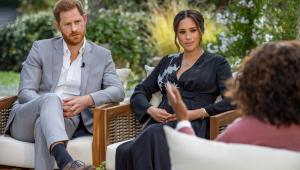 Polêmica antes mesmo de ir ao ar, entrevista de Meghan e Harry para Oprah será veiculada neste domingo