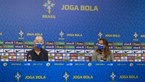 convocação do Brasil para treinamentos