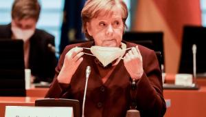 A primeira-ministra Angela Merkel