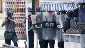 Protestos em Myanmar deixam 38 mortos nesta quarta-feira, 3
