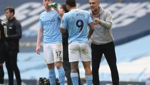 Guardiola exalta Gabriel Jesus após 21ª vitória seguida do City: 'É sensacional'