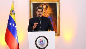 nicolás maduro, presidente da Venezuela durante discurso para o G20