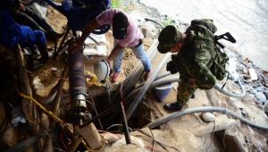 resgate de mineiros na Colômbia