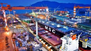 Samsung Heavy Industries é uma das maiores companhias mundiais de fabricação de navios