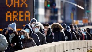 Nova York dará 'passe livre' aos que já foram vacinados contra Covid-19