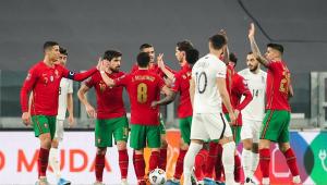 seleção de portugal vence o Azerbaijão nas eliminatórias para a copa do mundo de 2022