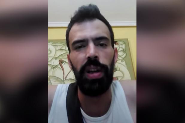 rapper aaron beltran, que cortou o pênis de colega