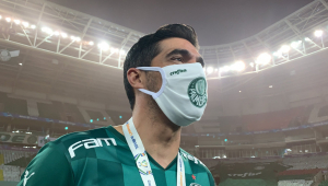 Abel Ferreira é o treinador do Palmeiras