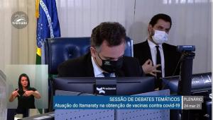 Investigação conclui que Filipe Martins fez gesto com conotação racista no Senado