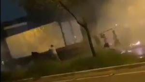 Briga entre corintianos e palmeirenses após Dérbi deixa cinco pessoas feridas