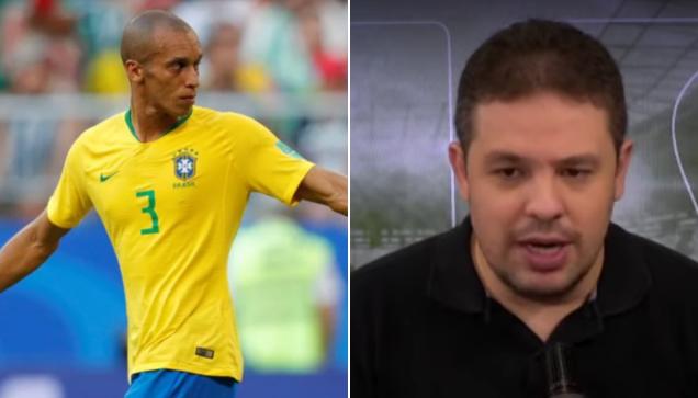 Bruno Prado comentou sobre o possível retorno de Miranda ao São Paulo