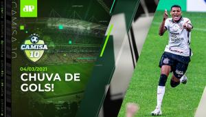 Corinthians e Palmeiras SUPERAM TEMPORAL e fazem JOGÃO pelo Paulista! | CAMISA 10 - 04/03/21