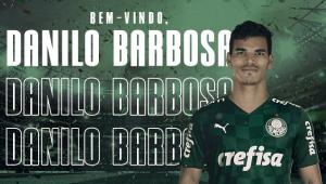 Danilo Barbosa é o primeiro reforço do Palmeiras para a temporada 2021