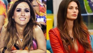 Tatá Werneck e Dayana Mello, finalista do 'Big Brother Itália'