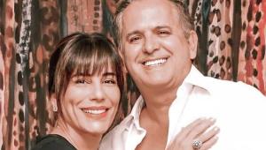 Gloria Pires com Orlando Morais