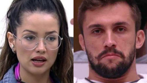 Juliette e Arthur do BBB 21
