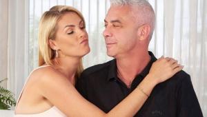 Ana Hickmann com o marido Alexandre Correa