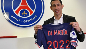 Di María renovou contrato com o PSG até 2022