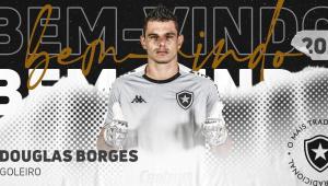 Botafogo anunciou a contratação de Douglas Borges