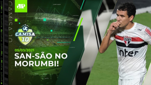 É AMANHÃ! São Paulo e Santos SE PREPARAM para CLÁSSICO no Morumbi! | CAMISA 10 - 05/03/21