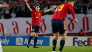 Ferrán Torres marcou para a Espanha contra a Geórgia