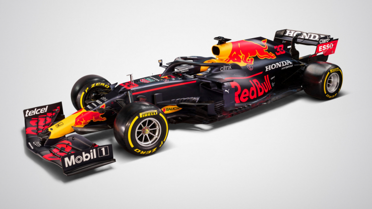 Carro da Red Bull Racing para a temporada de 2021