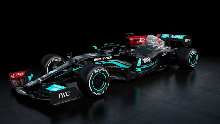Carro da Mercedes para a temporada de 2021