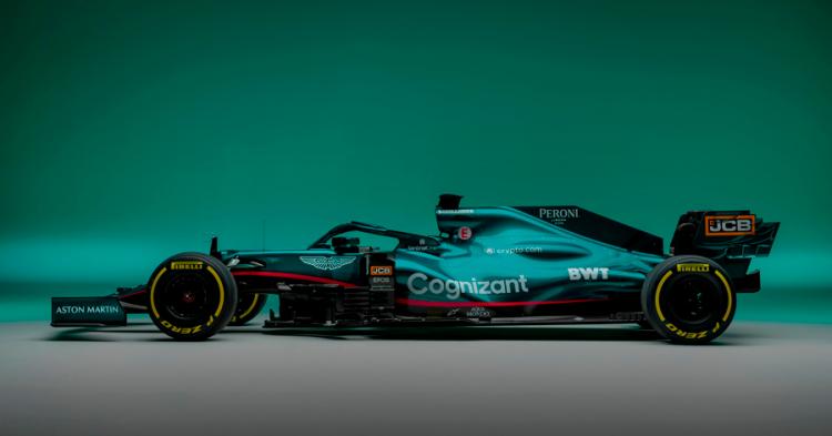 Carro da Aston Martin para a temporada de 2021