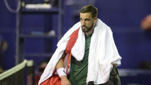 Damir Dzumhur, tenista que ameaçou de morte árbitro no atp de acapulco