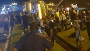 acidente com BRT no Rio de Janeiro
