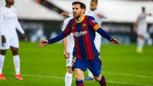 lionel messi na vitória do Barcelona contra o Huesca