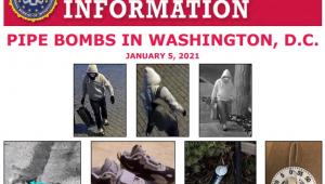 Folder do FBI com imagens de câmeras de segurança