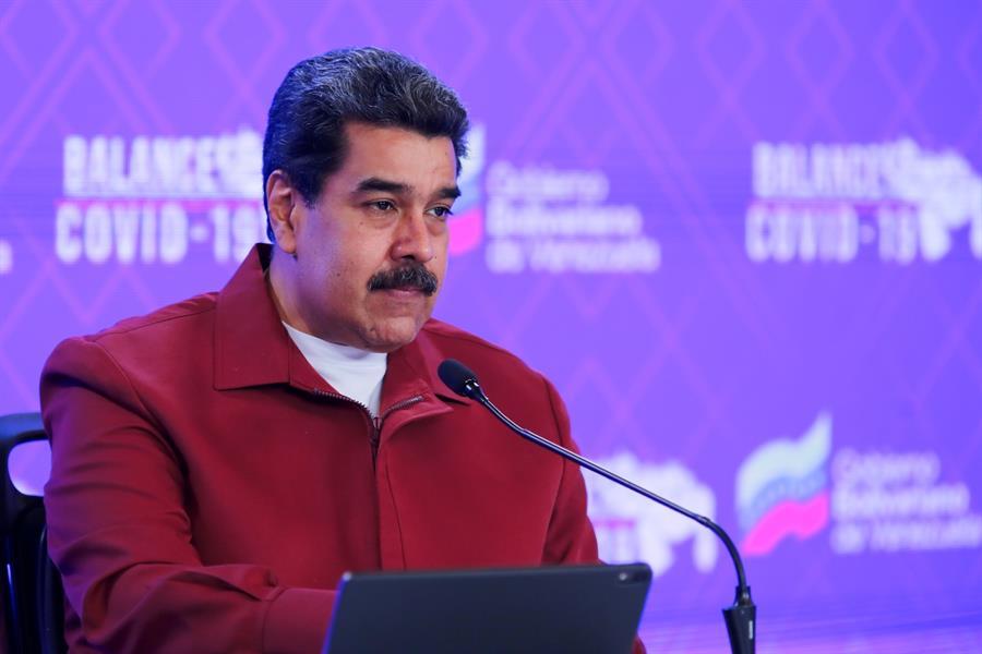 presidente da Venezuela, Nicolás Maduro, durante entrevista