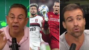 Flavio Prado e Thiago Asmar bateram boca ao comentar a final do Mundial de 2019