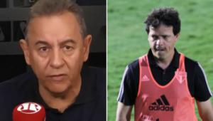 Flavio Prado revelou bate-papo exclusivo com Fernando Diniz