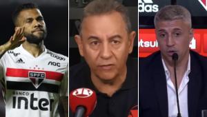 Flavio Prado: 'Daniel Alves está de saco cheio e pensa em ir embora do São Paulo'