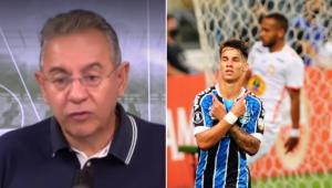 Flavio Prado comentou a vitória do Grêmio por 6 a 1 sobre o Ayacucho