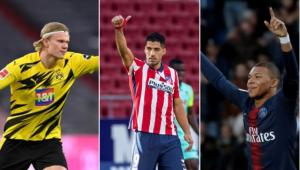 Suárez escolhe o melhor entre Haaland e Mbappé: 'Vai marcar uma era'