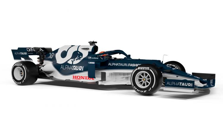 Carro da Scuderia AlphaTauri para a temporada de 2021