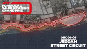GP da Arábia Saudita será o circuito de rua mais veloz