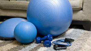 Equipamentos para exercício física em casa