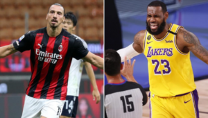 Ibrahimovic e LeBron James protagonizaram uma discussão sobre a manifestação política entre os atletas