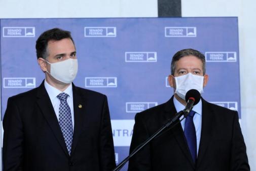 Empresários se reúnem com Lira e Pacheco e querem 'refundar' o governo Bolsonaro