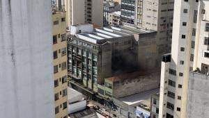 Incêndio no prédio da Folha de S.Paulo