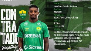 Corinthians empresta Jonathan Cafú ao Cuiabá até o final de 2021