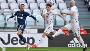 Partida entre Juventus e Beneveneto - 28ª rodada do Campeonato Italiano