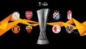 A Uefa realizou nesta sexta-feira, 19, o sorteio das quartas de final da Liga Europa 2020/21