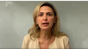 A médica Ludhmila Abrahão Hajjar fala sobre medicina em vídeo do Instagram