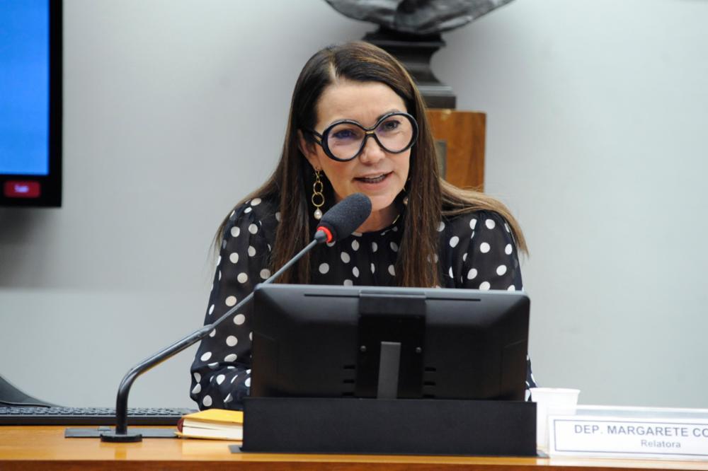 A deputada federal Margarete Coelho durante audiência pública na Câmara
