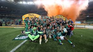 O Palmeiras foi campeão da Copa do Brasil 2020 ao bater o Grêmio